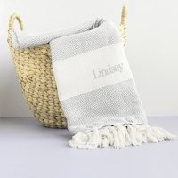 Personalized Turkish Throw Blanket