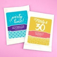 Birthday Cosmopolitan Drink Mix Favors