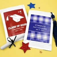 Personalized Graduation Party Margarita Mix Favors