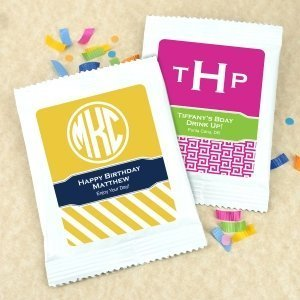 Personalized Monogram Margarita Cocktail Mix Favors image