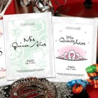 Personalized Quinceanera Margarita Favors (19 Designs)