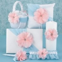 Pretty Petals Wedding Accessory Collection