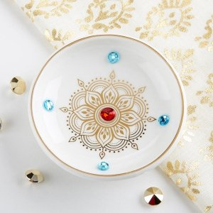 Indian Jewel Trinket Dish Bowl image
