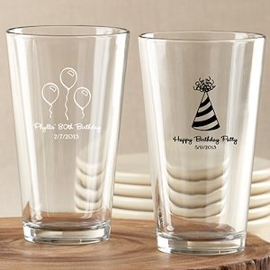 Personalized Birthday Favor Glasses image