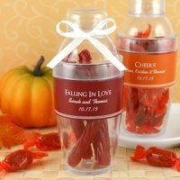 Personalized Fall Party Cocktail Shaker Favors