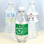 Golf Themed Water Bottle Labels (Set of 5)
