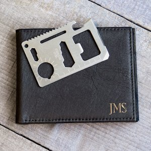 Personalized Wallet with Multi-Function Tool image
