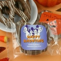 Halloween Gourmet Chocolate Pretzel Favors