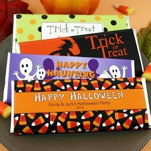 Personalized Halloween Hershey's Chocolate Bars image