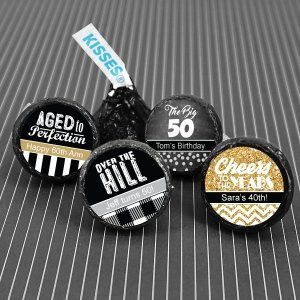 Birthday Designer Hershey's Kisses Favors image