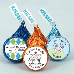 Golf Themed Hershey's Kisses Favors image