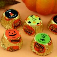 Personalized Halloween Reese's Peanut Butter Cup Favors