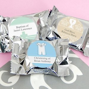 Personalized Baptism York Peppermint Patties image