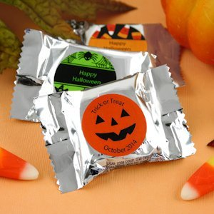 Personalized Halloween York Peppermint Patties image