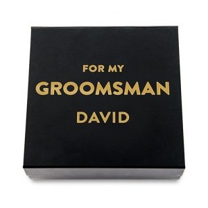 Premium Groomsman Gift Box - White or Black image