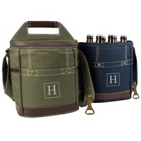 Personalized Craft Beer 6 Pack Bottle Cooler (2 Colors)