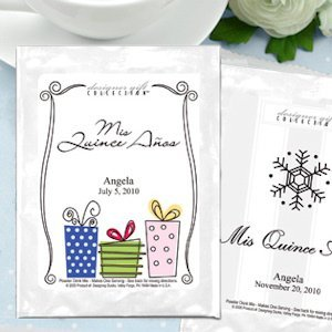 Hot Cocoa Personalized Mis Quince Anos Favors image
