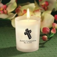 Candle Holder Personalized First Holy Communion Favors