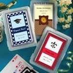 Custom Graduation or Celebration Playing Card Favors