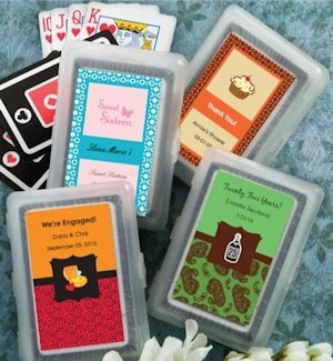 Custom Sweet Celebrations Playing Card Favors image