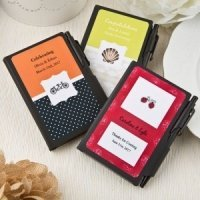 Personalized Expressions Black Notebook Favors