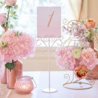 Tall Ornamental Wire Stationery Holders (Set of 6)