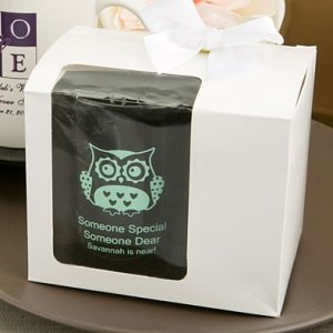 White Gift Box with Bow for 10oz Mug image