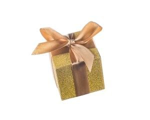 All that Glitters' Gold Favour Boxes (Set of 24) image