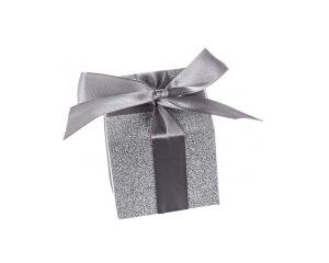 Shimmering Silver' Favour Boxes (Set of 24) image