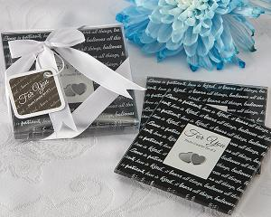 Love Is Photo Coasters (Set of 2) image
