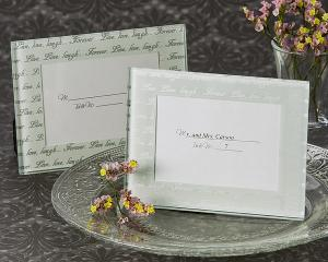 Live- Love- Laugh Frosted Mini Photo Frame OR Place Card H image