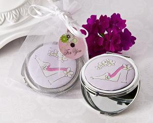 Sassy Stiletto High Heel Compact Mirror Favor image