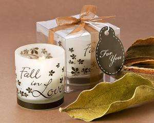 Fall in Love Tea Light Candle Holder (Pack of 4) image
