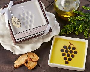 Vineyard Select Olive Oil and Balsamic Vinegar Dipping Plate image