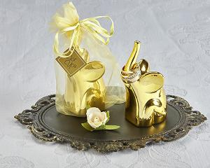 Lucky Elephant Ring Holder in Gold (4 Pack) image