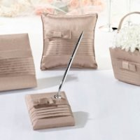 Taupe Bow Wedding Collection