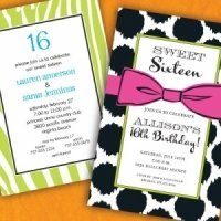 Sweet 15 Party Invitations