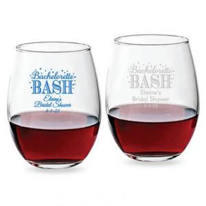 Bachelorette Bash Bubbly 15 oz_Stemless Wine Glass image