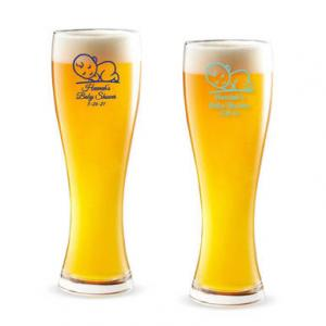 Baby Personalized Pilsner Beer Glass image