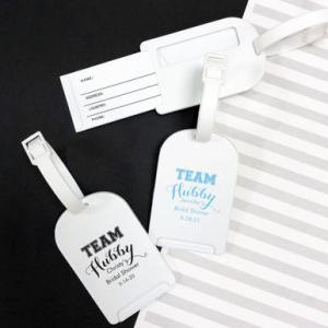 Team Hubby Personalized Luggage Tag image