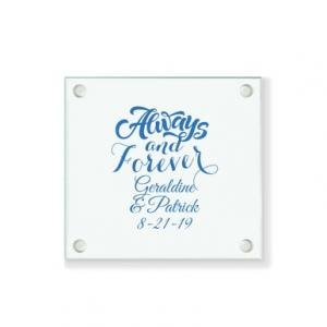 Always & Forever Personalized Coaster image