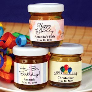 Personalized B-Day Honey Favors (50 Designs) image