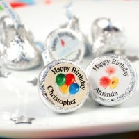 Personalized Birthday Kisses (50 Design Options)