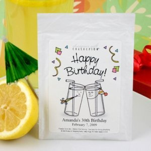 Personalized B-Day Lemonade Favors (50 Designs) image