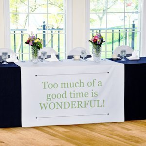 Custom Personalized Table Runner image