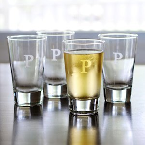 Personalized Pint Glasses (Set of 4) image