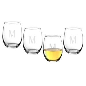 Personalized 15 oz. Stemless Wine Glasses image