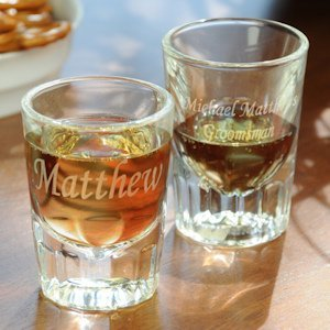 Fluted Shot Glasses (Set of 2) image