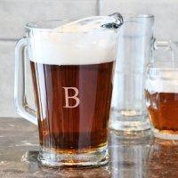 All Purpose Personalized Glass Pitcher