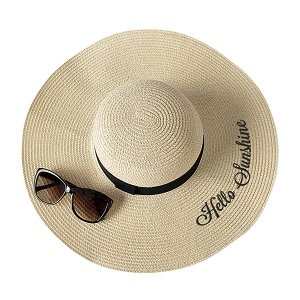 Hello Sunshine Natural Straw Hat image